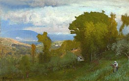 George Inness | Albano, Italy, Undated | Giclée Canvas Print