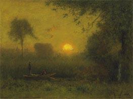 George Inness | The Sun, 1886 | Giclée Canvas Print