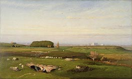 George Inness | In the Roman Campagna, 1873 | Giclée Canvas Print