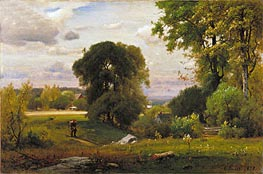 George Inness | Landscape, 1877 | Giclée Canvas Print