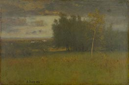 George Inness | The Valley on a Gloomy Day, 1892 | Giclée Canvas Print