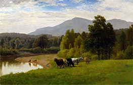 Pasture Lands, 1867 by George Inness | Giclée Canvas Print