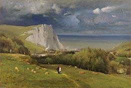George Inness | Etretat, 1875 | Giclée Canvas Print