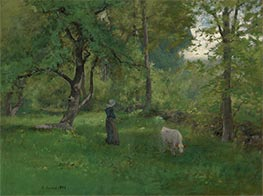 Green Landscape, 1886 by George Inness | Giclée Canvas Print