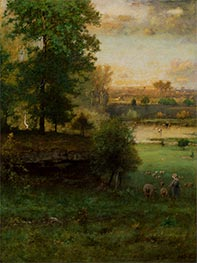 Scene at Durham, an Idyll, c.1882/85 by George Inness | Giclée Canvas Print