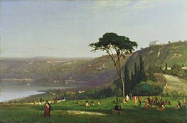 Lake Albano, 1869 by George Inness | Giclée Canvas Print