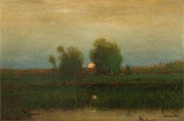 Moonrise, Alexandria Bay, 1891 by George Inness | Giclée Canvas Print