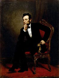George Healy | Abraham Lincoln, 1869 | Giclée Canvas Print