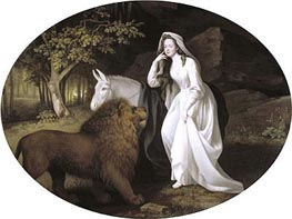 George Stubbs | Isabella Salstonstall as Spenser's 'Faerie Queene' | Giclée Canvas Print