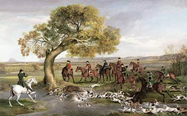 The Grosvenor Hunt, 1762 by George Stubbs | Giclée Canvas Print