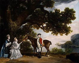 Captain Samuel Sharpe Pocklington with His Wife, Pleasance, and possibly His Sister, Frances, 1769 by George Stubbs | Giclée Canvas Print