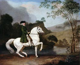 Sir Sidney Meadows, 1778 by George Stubbs | Giclée Canvas Print