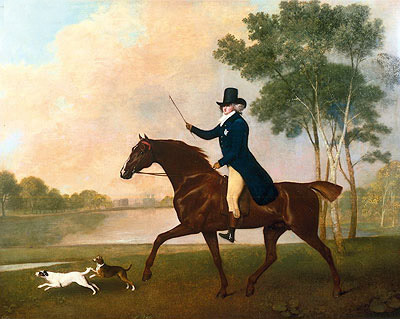 George IV when Prince of Wales, 1791   George Stubbs   Painting Reproduction