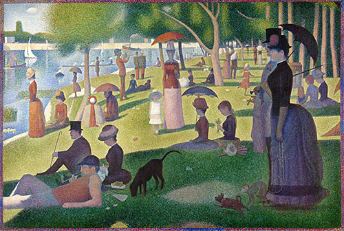 A Sunday on La Grande Jatte, c.1884/86 | Georges Seurat | Painting Reproduction