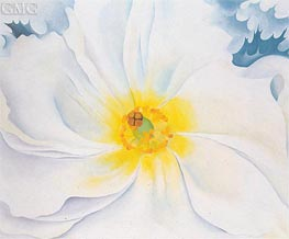 O'Keeffe | White Flower | Giclée Canvas Print