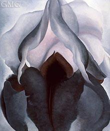 O'Keeffe   Black Iris III   Giclée Canvas Print