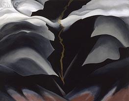 O'Keeffe | Black Place II | Giclée Canvas Print
