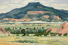 My Front Yard, Summer, 1941 by O'Keeffe | Giclée Canvas Print