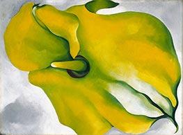 Yellow Calla, 1926 by O'Keeffe | Giclée Canvas Print