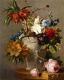 An Arrangement with Flowers, Undated by Georgius van Os | Giclée Canvas Print