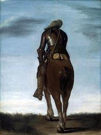 Gerard ter Borch | Man on Horseback, 1634 | Giclée Canvas Print