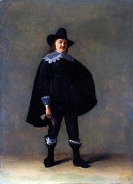 Gerard ter Borch | Portrait of a Gentleman in Black, c.1639/40 | Giclée Canvas Print