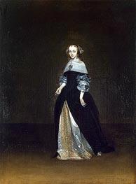 Gerard ter Borch | Portrait of Catarina van Leunink, c.1654/81 | Giclée Canvas Print