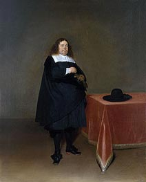 Gerard ter Borch | Burgomaster Jan van Duren, c.1666/67 | Giclée Canvas Print