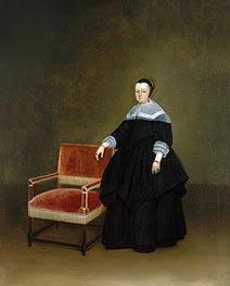 Gerard ter Borch | Margaretha van Haexbergen | Giclée Canvas Print
