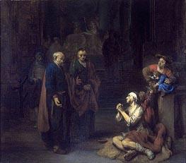 Gerbrand van den Eeckhout | St. Peter Healing the Lame, 1667 | Giclée Canvas Print