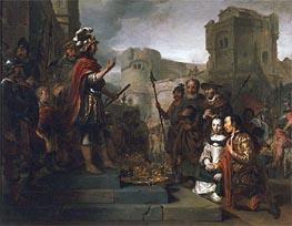 Gerbrand van den Eeckhout | The Continence of Scipio, 1659 | Giclée Canvas Print