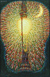 Giacomo Balla | Street Light, 1909 | Giclée Canvas Print