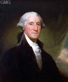 Gilbert Stuart | George Washington, 1795 | Giclée Canvas Print