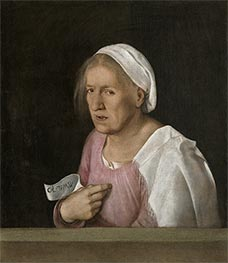 Portrait of an Old Woman, c.1502/08 by Giorgione | Giclée Canvas Print