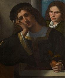 Two Friends, c.1502 by Giorgione | Giclée Canvas Print