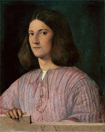 Portrait of a Young Man (Giustiniani Portrait), Undated by Giorgione | Giclée Canvas Print