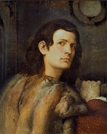 Portrait of a Young Man, c.1510 by Giorgione | Giclée Canvas Print