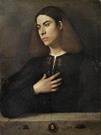 Portrait of a Young Man (The Broccardo Portrait), c.1508/10 by Giorgione | Giclée Canvas Print