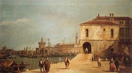 Canaletto | Fonteghetto della Farina | Giclée Canvas Print