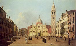 Canaletto | Campo Santa Maria Formosa | Giclée Canvas Print