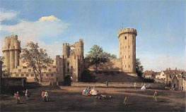 Canaletto | Warwick Castle: the East Front | Giclée Canvas Print