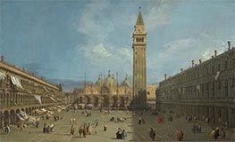 Canaletto | Piazza San Marco | Giclée Canvas Print