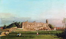 Canaletto | Warwick Castle, 1748 | Giclée Canvas Print