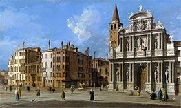 Campo Santa Maria Zobenigo, Venice, c.1730/40 by Canaletto | Giclée Canvas Print