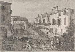 Le porte del Dolo, c1735/46 by Canaletto | Giclée Paper Print