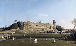 Warwick Castle, c.1748/1749 by Canaletto   Giclée Canvas Print