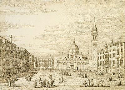 Venice: Campo Santa Maria Formosa, c.1735/40 | Canaletto | Painting Reproduction