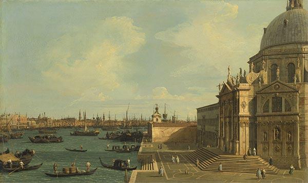 Venice: Santa Maria della Salute, undated | Canaletto | Painting Reproduction