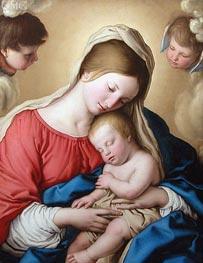 Sassoferrato | Le Sommeil de l'Enfant Jesus | Giclée Canvas Print