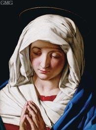 Sassoferrato | Madonna Orante | Giclée Canvas Print